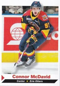 CONNOR McDAVID ... 2013 Sports Illustrated for Kids - PRE-ROOKIE