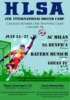 YYC International Soccer Training Camp