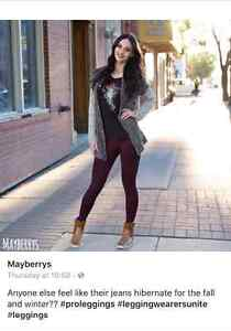 Mayberrys Leggings Thunder Bay By Naomi