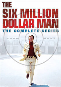 The SIX MILLION DOLLAR MAN (Complete Series) (33 DVD SET) ~ NEW