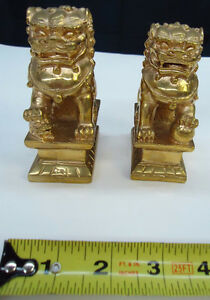 New Bronze Asian Lions Sculpture / Sculpture des lions asiatique