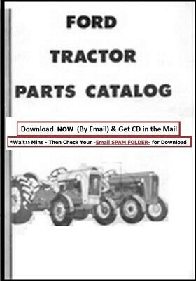 Ford Tractor Parts Manual 4cyl 1953-1964 Naa 501 600 601 700 701 800 801 900 901