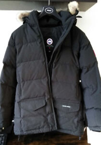 Canada Goose Women's Solaris Parka Jacket-Black-Size 12-14 New
