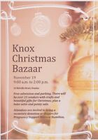 Christmas Craft Bazaar - Knox Church Dundas