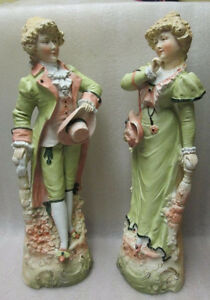 Pair Shabby & Chic French Provicial LAMP Base White Gold Metal S Kitchener / Waterloo Kitchener Area image 6