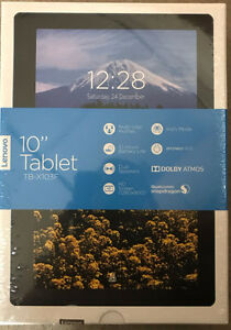 "BNIB Lenovo 10"" Black Tablet 16GB for Sale (Derry/Mclaughlin)"