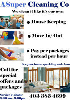 SPECIAL OFFER $20.00 OFF MOVE IN AND OUT 403.383.4699