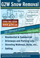 G2W Snow Removal 24/7 BEST SERVICE