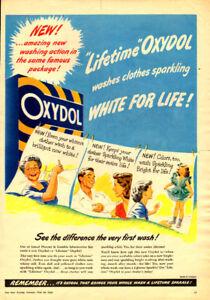 1948 full-page magazine Oxydol Detergent (10 ½ x 15)
