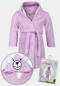 Bnwt baby bear dressing gowns