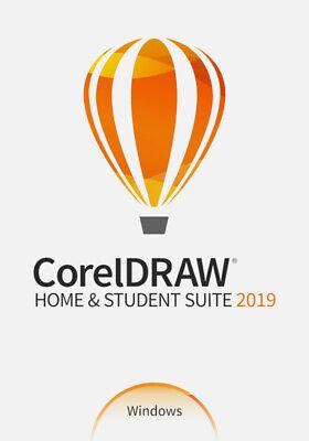 COREL CorelDRAW Home & Student Suite 2019 -DEUTSCH-  / KEY