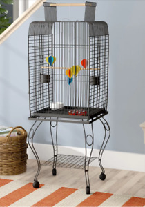 Play Top Bird Cage - Perfect for conures, quakers cockatiel etc.