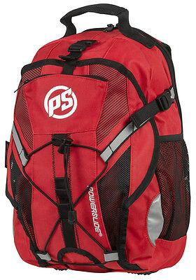 Powerslide Fitness Backpack red / Skate Rucksack rot!