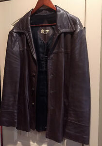 Jacket Leather Mens
