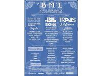 Bingley Music Festival 2-4 September camping tickets