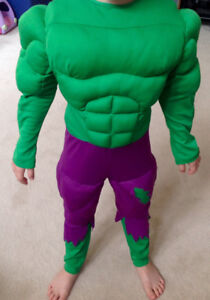 HULK Costume - size 6-8 - Excellent Condition!