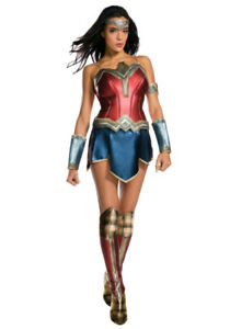Wonder Woman Costume & Wig, Small, Brand New in Box