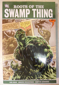Roots of the Swamp Thing TPB Bronze Age Batman Wein Wrightson