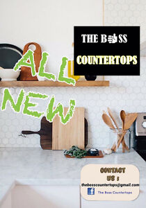 THE BOSS COUNTERTOPS