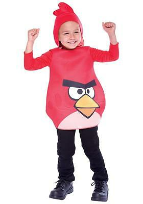 Lot of 12 Red Angry Birds Rovio Video Game Child Halloween Costumes Toddler 2T](Games Angry Birds Halloween 2)