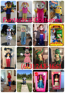 Funtastical Costumes - Mascot Characters for Parties Kingston Kingston Area image 2