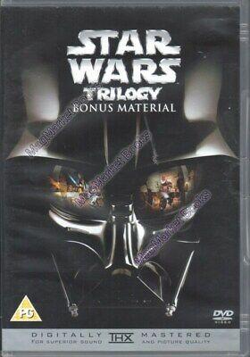STAR WARS Trilogy Bonus Material DVD 2004 - FAST WITH FREE P&P