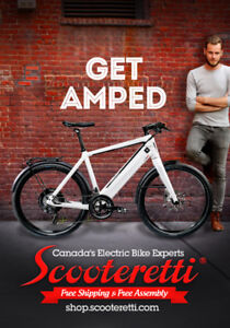 Electric Bicycles - Scooteretti - Canada's Expert Shop