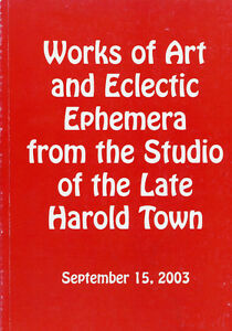 WORKS OF ART AND ECLECTIC EPHEMERA FROM THE STUDIO HAROLD TOWN London Ontario image 1