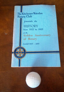 The Kitchener Waterloo Rotary Club - History - 1922-1955