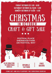 Christmas in October Craft and Gift Sale