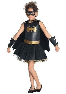 BATGIRL Tutu Dress Child Costume Cute Girls Outfit Superhero (Cute Batgirl Costumes)