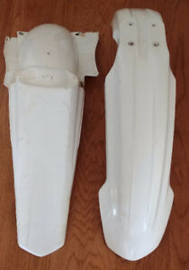 Yamaha YZF Front and Rear Fender - Motocross Dirtbike Plastic
