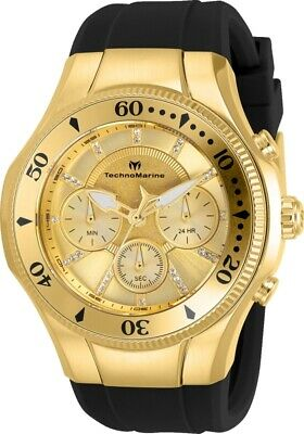 Technomarine TM-118140 Cruise Men's 45mm Stainless Steel Gold-Tone Gold Dial