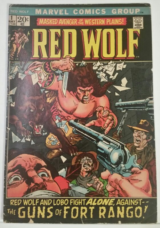 RED WOLF NO. 1 - MARVEL - MAY 1972