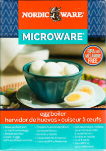 *NEW* Microwave Egg Boiler Cooker-Easy Perfect Soft-Hard Boiled