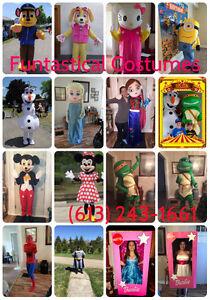 Funtastical Costumes - Mascot Characters for Parties Peterborough Peterborough Area image 2