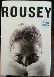 Ronda Rousey Autographed Signed Book Limited Edition!