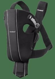 Babybjorn bab carrier active in black. Excellent condition. From smoke and pet free home.