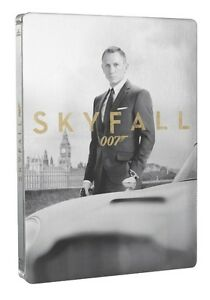 BLU-RAY! SKYFALL LIMITED EDITION STEELBOOK