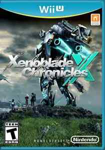 Selling Xenoblade Chronicles X for Wii U