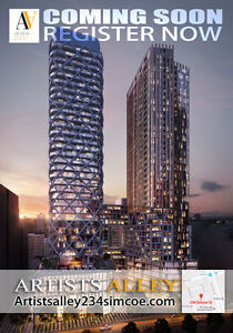 Artist Alley Condos----REGISTER NOW FOR GUARANTEED FIRST ACCESS!
