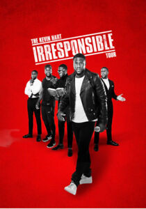 KEVIN HART IRRESPONSIBLE TOUR- JULY 21ST 10:30 PM- ACC
