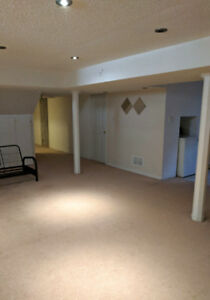 BEAUTIFUL SPACIOUS BASEMENT FOR RENT- AMAZING LOCATION IN GTA!