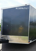 New 2016 Stealth 8.5x20 Enclosed Trailer 30 inch V Nose