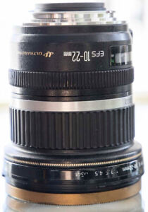 Canon EF-S 10-22mm lens