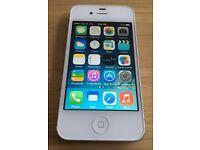 iPhone 4 - 8GB White - £30