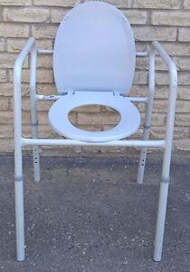 Lumex Aluminum Toilet Seat or Toilet Safety Frame