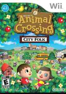 Looking for animal crossing city folk