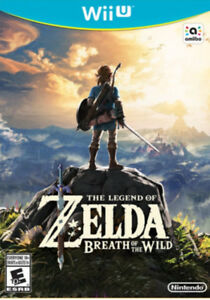 Legend of Zelda, breath of the wild for Wii u
