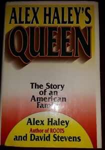 ALEX HALEY BOOK 'QUEEN'  FIRST EDITION HARDCOVER